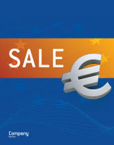 Financial/Accounting: European Union Sale Poster Template #02642