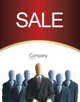 Careers/Industry: Boss Sale Poster Template #02711