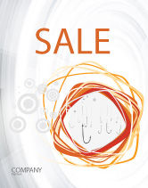 Business Concepts: Hooks Sale Poster Template #02722