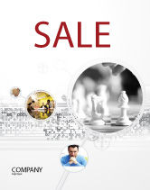 Sports: Strategic Position Sale Poster Template #02755