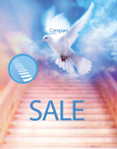 Religious/Spiritual: Holy Benediction Sale Poster Template #02764
