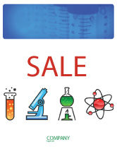 Education & Training: Natural Sciences Sale Poster Template #02780