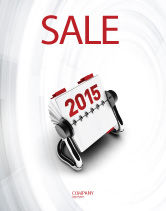 Business Concepts: Throw-Over for 2015 Sale Poster Template #02834