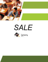 Education & Training: Certificate of Degree Sale Poster Template #02855