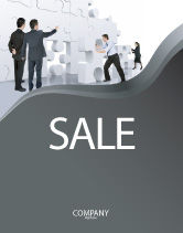 Business Concepts: Brainstorm Sale Poster Template #02856