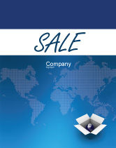 Global: Globe In The Box Sale Poster Template #02864