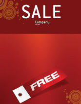 Abstract/Textures: Label Sale Poster Template #02865