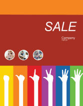 Education & Training: Counting Sale Poster Template #02868