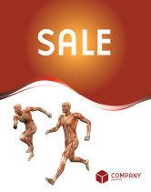 Medical: Modello Poster - Sistema muscolare #02911