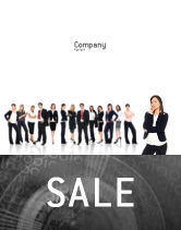 People: Independent Thinking Sale Poster Template #02918