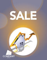 Business Concepts: Real Estate Rate Sale Poster Template #02929