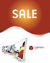 Education & Training: Computer Education In School Sale Poster Template #02935