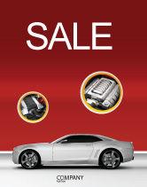 Cars/Transportation: Supercar Sale Poster Template #02939