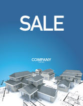 Construction: House Building Sale Poster Template #02955