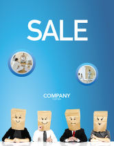 Consulting: Social Mask Sale Poster Template #02960