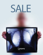 Medical: Lungs Sale Poster Template #02975