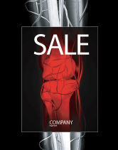 Medical: Joint Sale Poster Template #02985