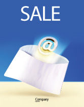 Telecommunication: You've Got Email Sale Poster Template #03007