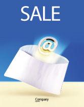 Telecommunication: Je Hebt E-mail Gekregen Poster Template #03007