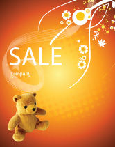 Holiday/Special Occasion: Toy Sale Poster Template #03013