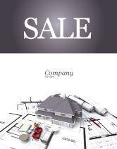 Construction: Townhouse Project Sale Poster Template #03027