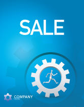 Technology, Science & Computers: Running Sale Poster Template #03028