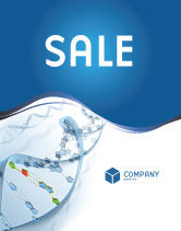 Technology, Science & Computers: Genes Sale Poster Template #03031