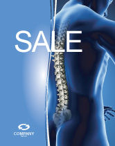 Medical: Spine Sale Poster Template #03062