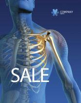 Medical: Bones Sale Poster Template #03063