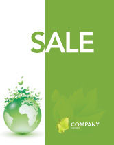 Nature & Environment: Green Environment Sale Poster Template #03091