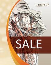 Medical: Templat Poster Anatomi Kraniofasial #03127