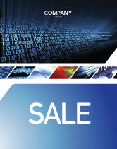 Technology, Science & Computers: Computer Sale Poster Template #03128