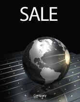 Global: 钢球海报模板 #03141