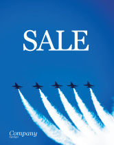 Military: Aviation Parade Sale Poster Template #03150