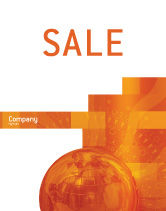 Global: Wide World Business Sale Poster Template #03159