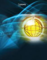 Telecommunication: Modèle d'Affiche de monde en ligne #03166