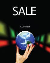 Global: Global Power Sale Poster Template #03167
