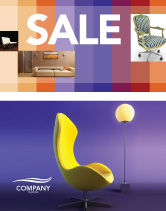 Art & Entertainment: Comfort Sale Poster Template #03182