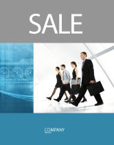 Careers/Industry: Career Opportunities Sale Poster Template #03205