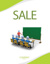 Education & Training: Teaching Class Sale Poster Template #03209