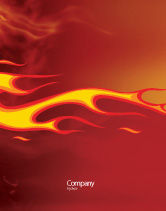 Abstract/Textures: Fire Flame Sale Poster Template #03234