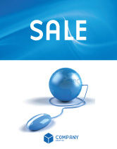 Global: Computerized World Sale Poster Template #03291