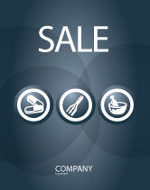 Medical: Drugstore Sale Poster Template #03359