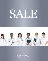 Medical: Medical Interns Sale Poster Template #03390