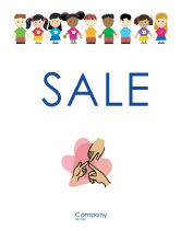 Education & Training: Childhood Sale Poster Template #03391