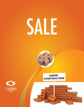 Construction: Under Construction Sale Poster Template #03416