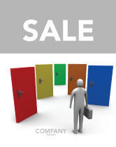 Education & Training: Choices Sale Poster Template #03476