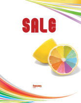 Business Concepts: Color Diversity Sale Poster Template #03498