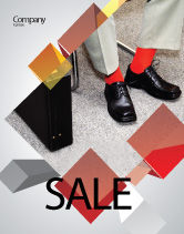 Business: Waiting Opportunity Sale Poster Template #03515