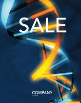 Medical: Genen In Dna Poster Template #03516